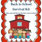 This product contains many great activities to help you get through the first week of school.  Activities included in this 36 page set are:  My Dre...