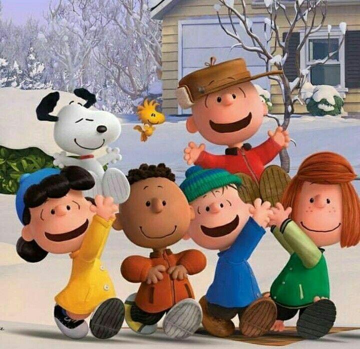 Snoopy y sus amigos!