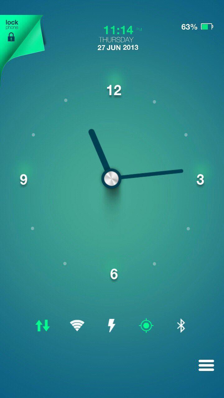 [홈팩버즈]에서 멋진 홈스크린을 만나보세요! Rohit Nagpure   My Homepack Clock....