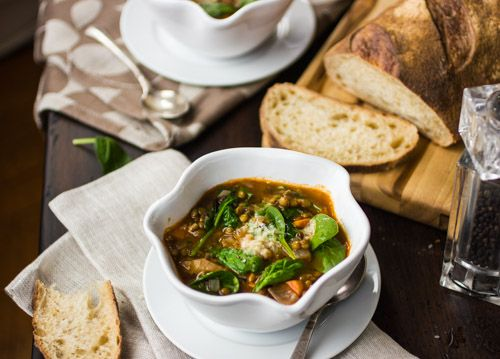 French Lentil and Spinach Soup – The Bojon Gourmet