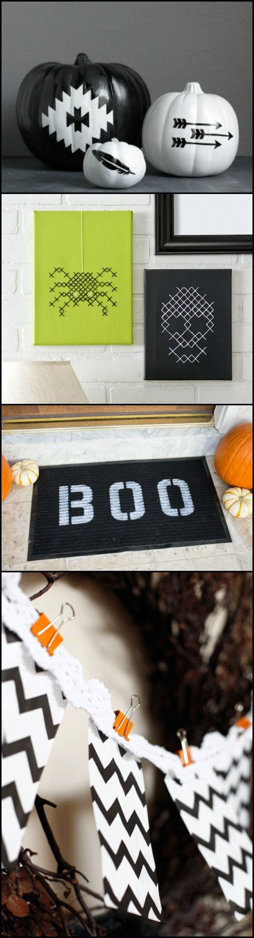 Diy halloween decor pinterest - 15 Diy Ideas For Modern Halloween Decor