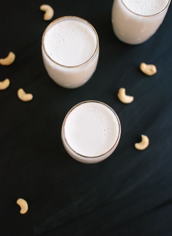 Learn how to make cashew milk!  Ingredients      1 cup raw cashews     4 cups water (divided)     1 to 2 tablespoons maple syrup or honey or agave nectar     2 teaspoons vanilla extract     Dash sea salt     Pinch cinnamon (optional)