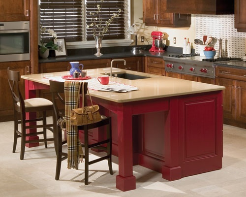 1000+ images about Kitchen Island Ideas on Pinterest  Room kitchen