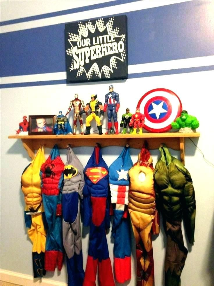 Superhero Room Decor Marvel Heroes Bedroom Decor Marvel Bedroom