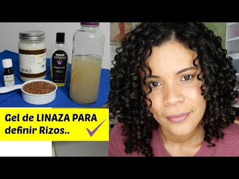 GEL DE LINAZA CON ACEITE DE COCO   GEL NATURAL   RIZOS HERMOSOS   Kenimar - YouTube