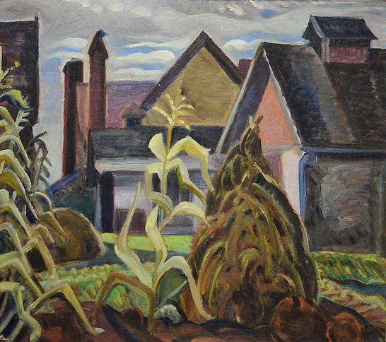 Anne Savage - Sugar Shack 16 x 18 Oil on plywood panel (1939)