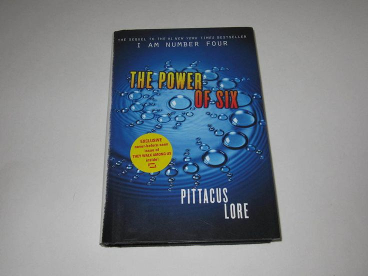 The Power of Six (Lorien Legacies, Book 2) by Pittacus Lore