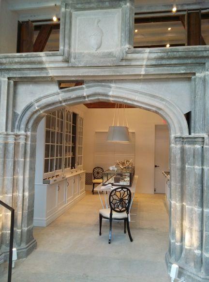 Darryl Carter's housewares shop/design studio in row house in Shaw 'hood in DC