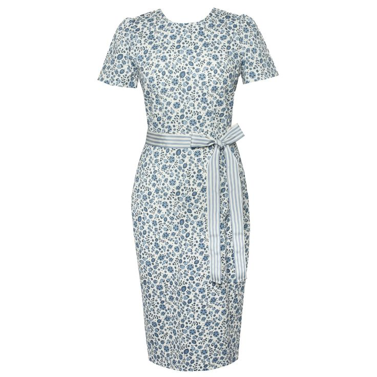 Avignon Dress provence bleu - Outlet - Online Shop - Lena Hoschek Online Shop