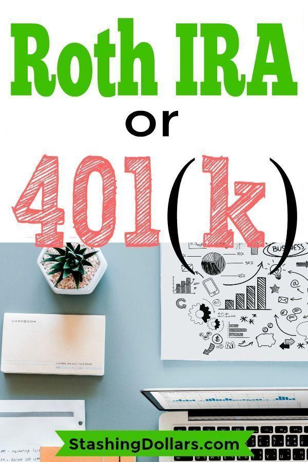 Roth Ira Vs 401 K Roth Ira Calculator Stashing Dollars Roth Ira Calculator Roth Ira Personal Financial Planning