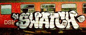 Graffiti by Swatch, great resource for a lesson on graffiti