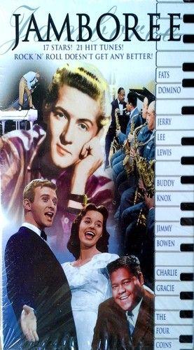 JAMBOREE - JERRY LEE LEWIS, FATS DOMINO, CARL PERKINS, BUDDY KNOX -WB - VHS TAPE