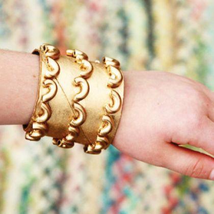 Gold Egyptian Cuffs