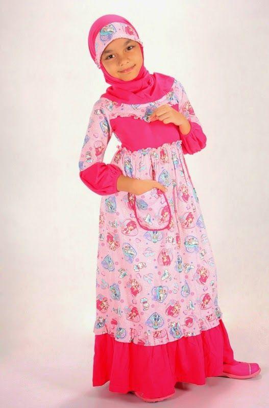 Butik Jeng Ita - Produk Busana dan Fashion Cantik Terbaru: Baju Muslim Untuk Anak Perempuan
