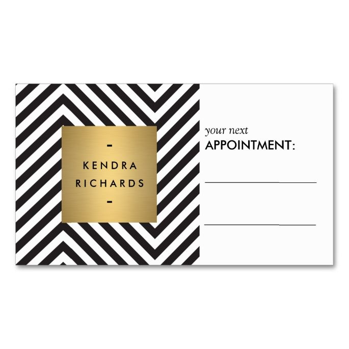 2173 best Black and White Business Card Templates images on - sample appointment card template