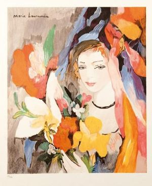 Le Bouquet by Marie Laurencin