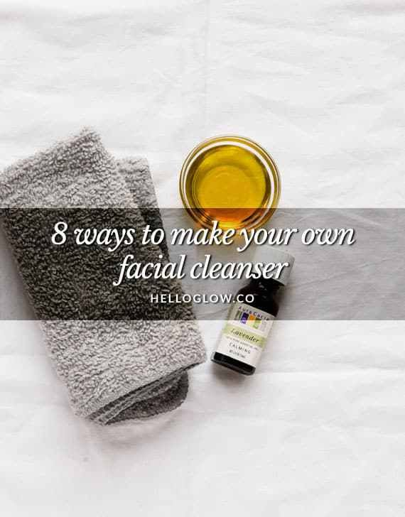 DIY: Homemade Anti-Aging Daily Cleanser