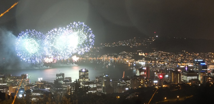 Spectacular fireworks display in Wellington, November 2012