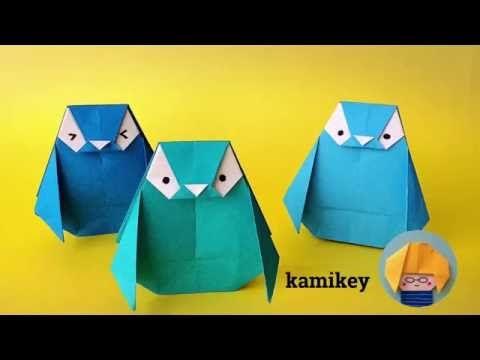 折り紙 ペンギン Penguin Origami - YouTube