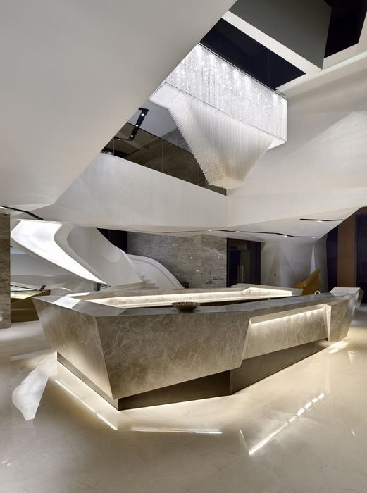 Times Bund Clubhouse, Shanghai, China by Kris Lin Interior Design