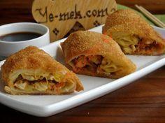 Tavuklu Çin Böreği Resimli Tarifi - Yemek Tarifleri