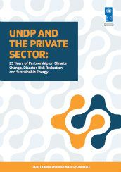 UNDP and the private sector: 25 years of partnership on climate change, disaster risk reduction and sustainable energy