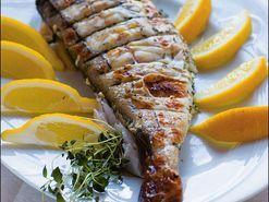 Pesce alla brace - helgrillad fisk