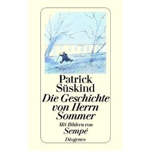 'Die Geschichte von Herrn Sommer' (1991),  by Patrick Süskind. Disarming discovery of the world by a boy. I could nearly touch the silver hairs in the neck of the girl sitting before him in class. Sheer beauty, on such few pages. Have a walk with Mr. Sommer ;)