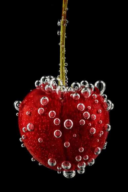 ♥ As red as a cherry  #photography