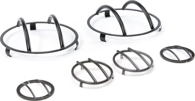 rampage products front euro light guards for 07