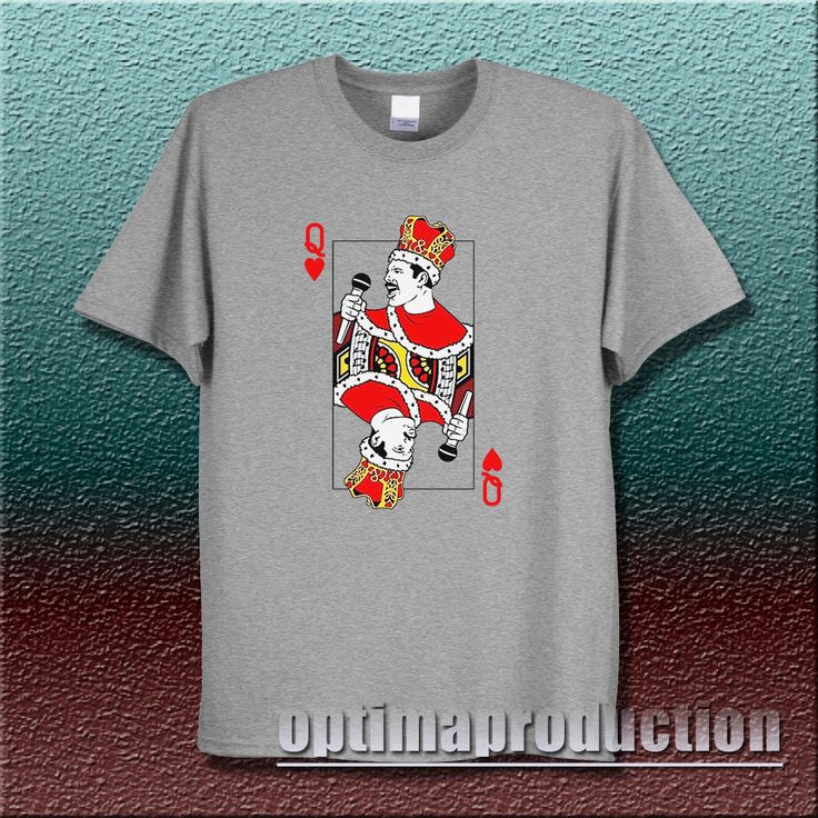 freddie mercury the queen playing card cartoon funny instagram tumblr pinterest  #Unbranded #BasicTee ootd outfit of the day