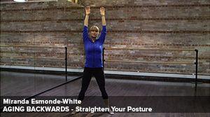 Straighten your posture - stretch sequence tutorial Miranda Esmonds-White