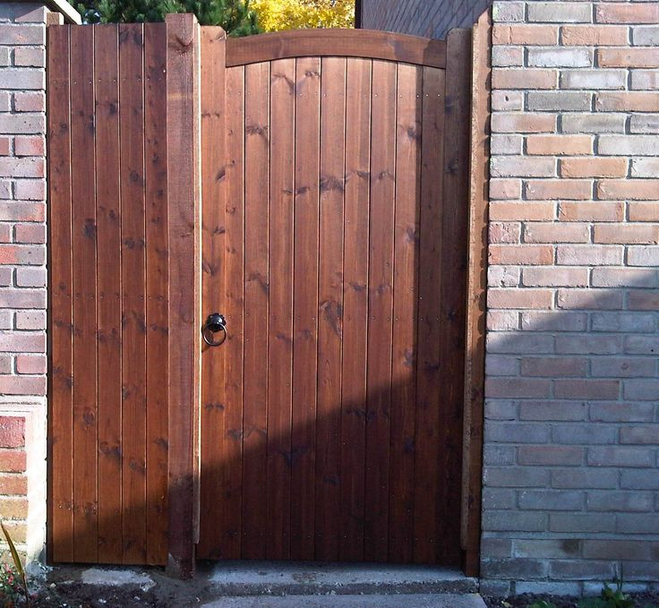 SUDBURY GATE - Arch Top Wooden Side Gate 45mm or 70mm