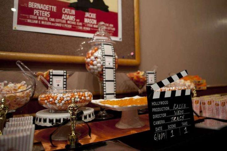 Decorazioni per il matrimonio a tema cinema - Catering per matrimonio a tema cinema