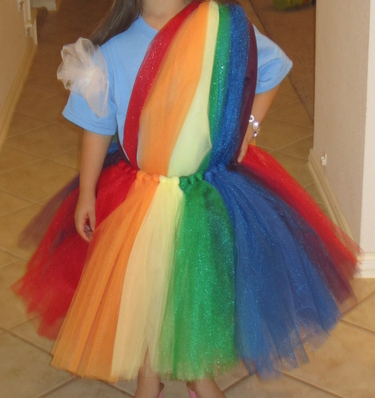 Rainbow Halloween Costume
