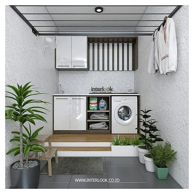Image May Contain Plant And Indoor Laundry Area Ideas Mesincuci