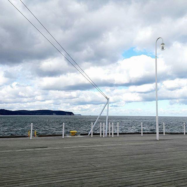 #sea#balticsea #poland#sopot#molo#morze#explorepoland #lubiepolske #sky#clouds #nature #natureporn #naturelovers #good#instanature #instagood #spring