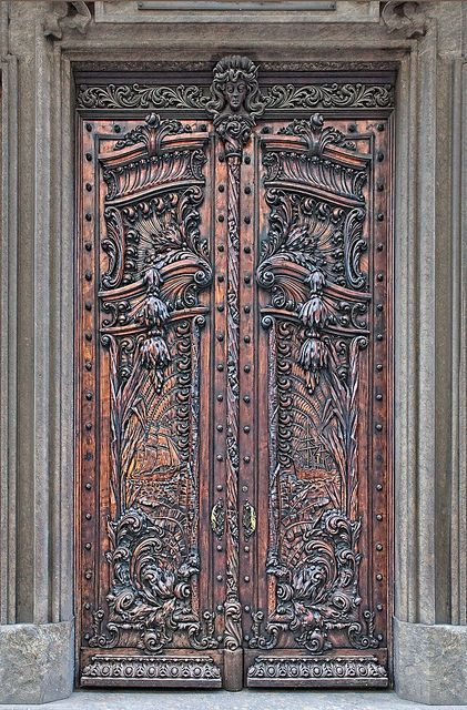 29 Splendidly Intricate Hand Carved Doors to Surge Inspiration From