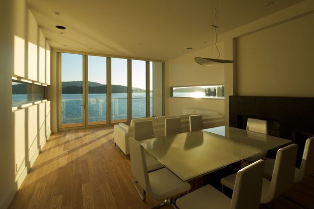 Indian Arm, North Vancouver, BC, Canada, the Cliffhanger Residence, architects Kevin Vallely Design