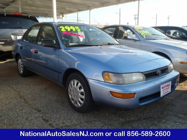 Model: 1995 Toyota Corolla   Price: $2,995   COLOR    Lt Blue /Blue    MILES    187,038    Engine    4 Cylinder    Trans    AUTOMATIC    Stock #    S955421    VIN    2T1AE09B9SC095421      If Interested call National Auto Sales today (856) 589-2600 Ask for Bill