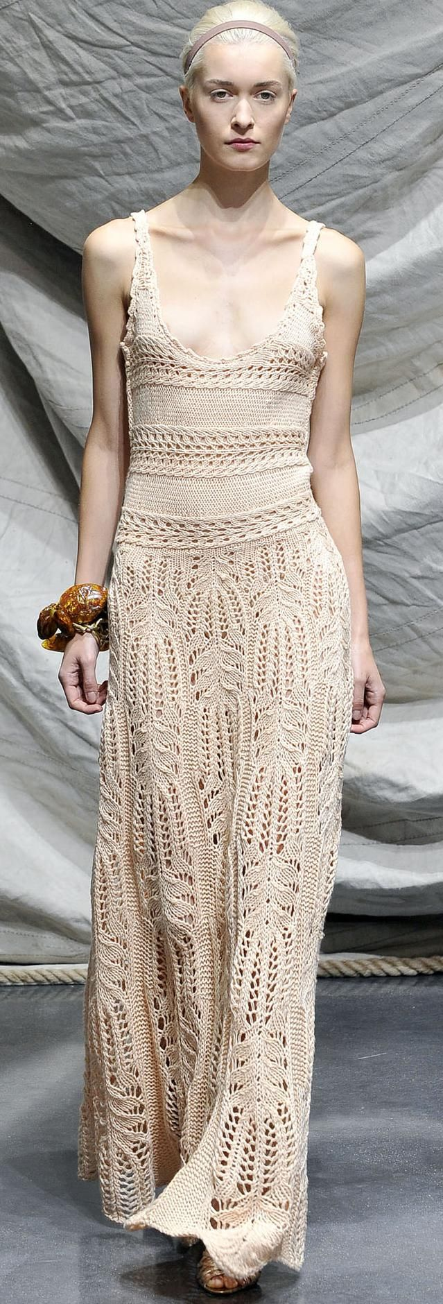 Graeme Black knitted dress