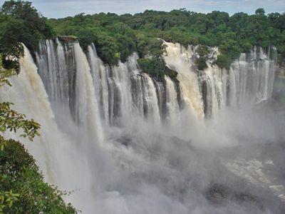 Kalandula Falls, Angola Africa