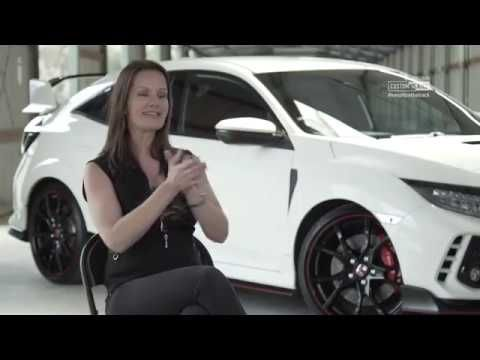 When the guys at Honda throw you the keys to their brand new Civic Type R, what's the first thing you'd do?  Us, being us, we promptly gave our tame racing driver Melinda Price a call to see if she wanted to have a go in it at Broadford Motorcycle Track.  The result is this video.    Vplates.com.au