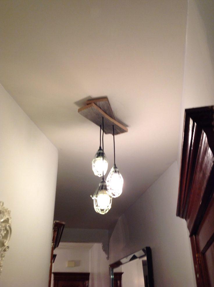 Rustic lamps - Au Chalet Vintage