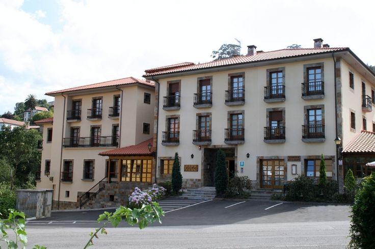 Agosto 2013. Camino Norte de Santiago. Hotel Valle de las Luiñas. Soto de Luiñas (Asturias)