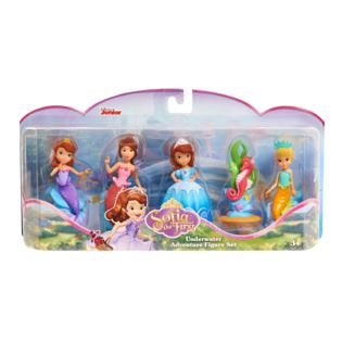 Disney Disney Sofia The First: Royal Friends Figure Set - Mermaid alternate image