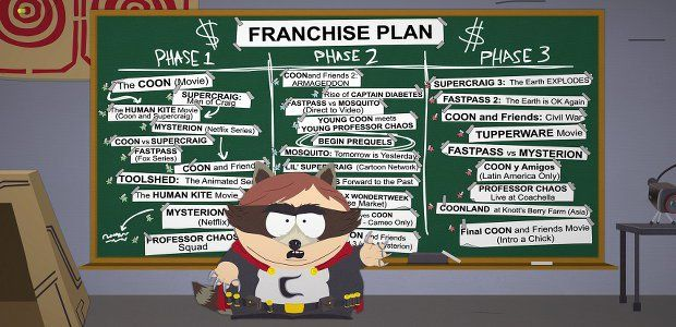 South Park: The Fractured But Whole Due In December -  Ubisoft went a little quiet about South Park: The Fractured but Whole [official site] after announcing the RPG sequel during E3 2015 but this year's show has brought a release date: December 6th. Those naughty little children imagined they were fantasy heroes in The Stick of Truth but for... http://tvseriesfullepisodes.com/index.php/2016/06/13/south-park-the-fractured-but-whole-due-in-december/