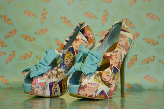 Disney Princess Heels Perfect For A Girl's Night Out!