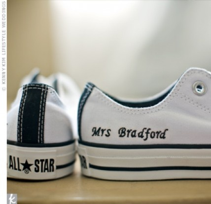 Personalised Shoes The Knot Converse All StarConverse