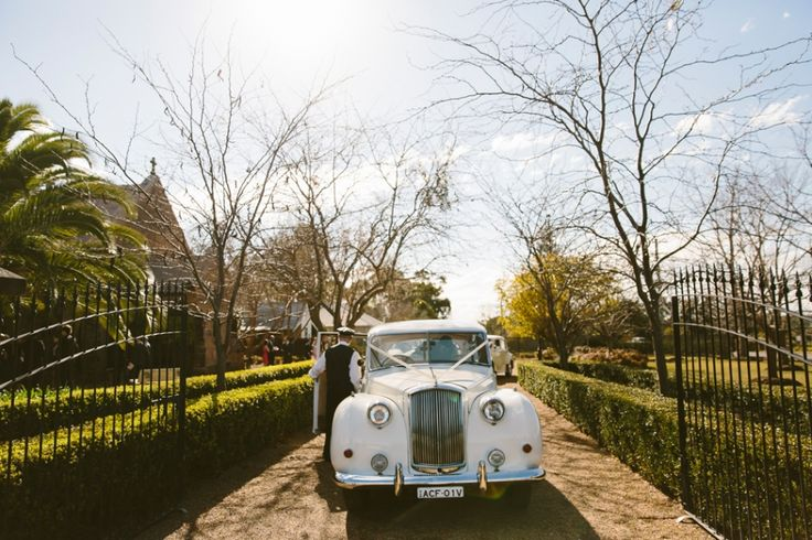 Absolute Vintage Wedding Cars Hunter Valley. Image: Cavanagh Photography http://cavanaghphotography.com.au